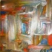 P27vendido óleo sobre tela peça de 15x15