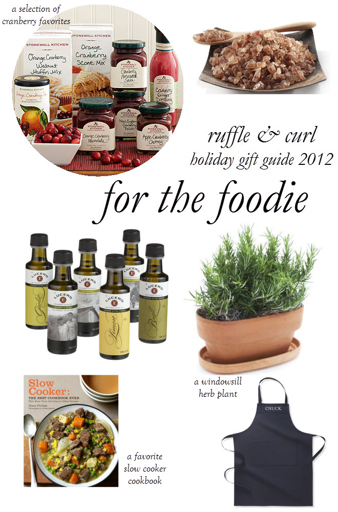 holiday gift guide, gifts for foodies, foodie gifts