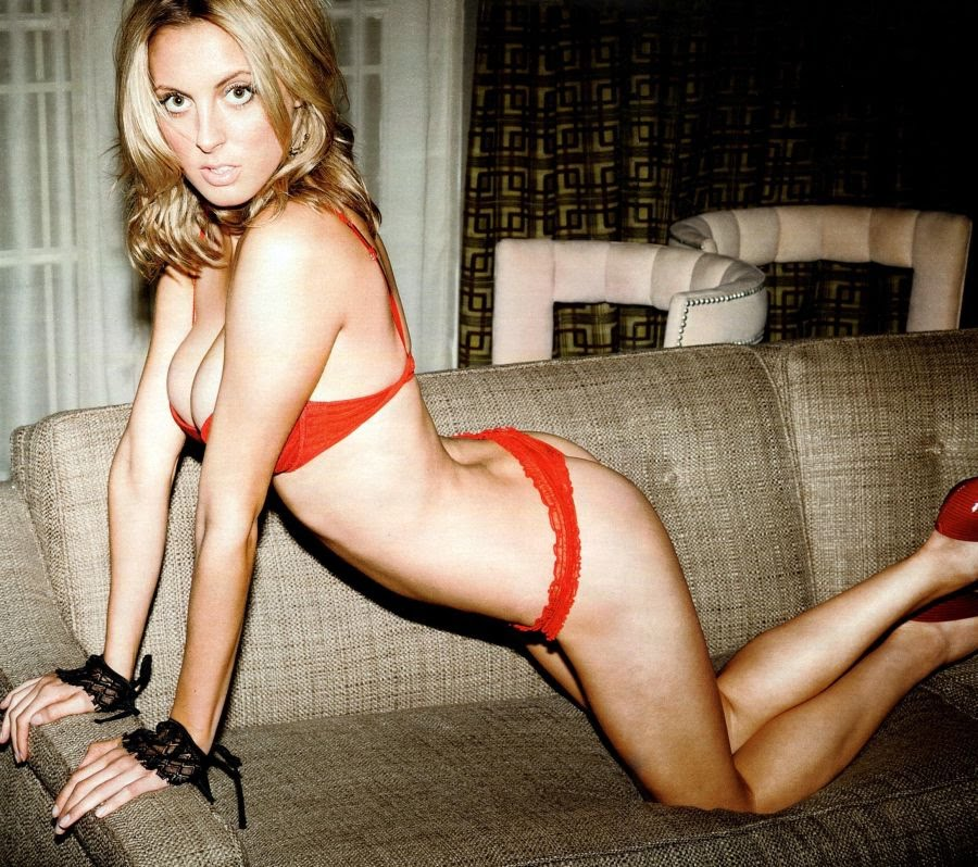 lingerie Brittany snow red