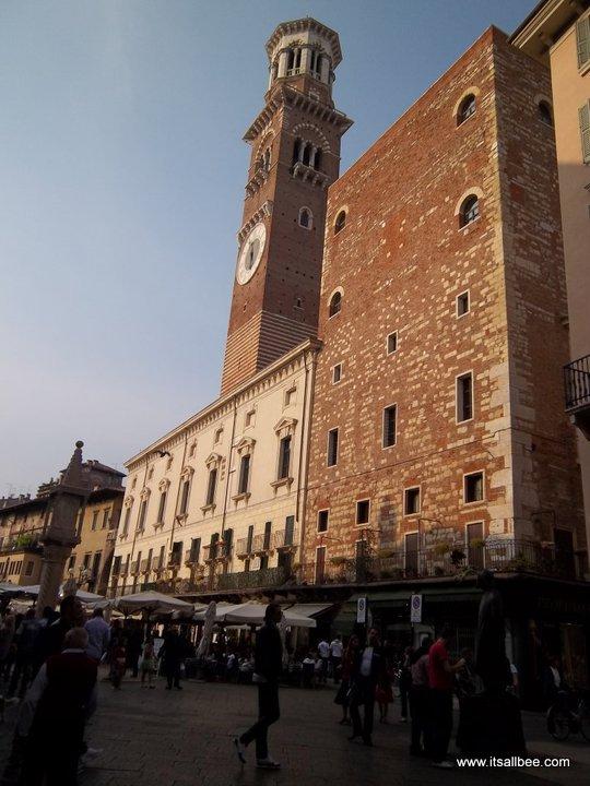 Piazza Erbe and Torre dei Lamberti
