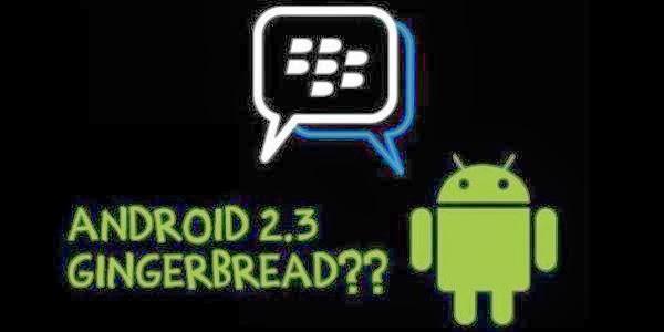 BBM untuk android Gingerbread