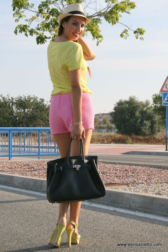 PINK SHORT - Blog Estilo Stiletto