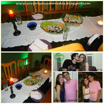 jantar dia dos namorados