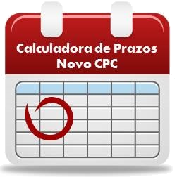 Calculadora de Prazo - NCPC