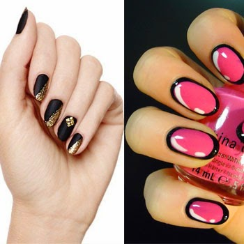 New year nail art designhttpnails sidespot top nail art designs trends for 2014 prinsesfo Gallery