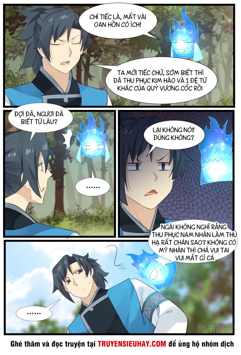 Võ Luyện Đỉnh Phong Chap 170 Upload bởi Truyentranhmoi.net