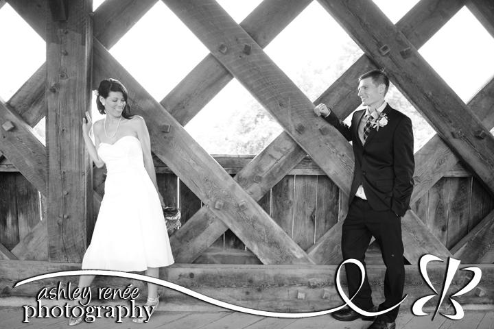 Ashley bridges wedding