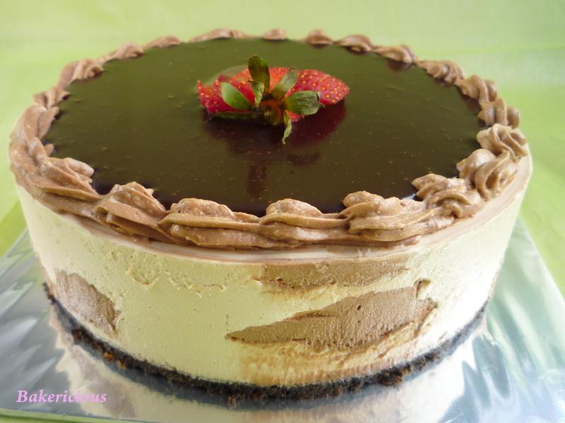 Bakericious: Chocolate Nutella Dulce de Leche Mousse Cake