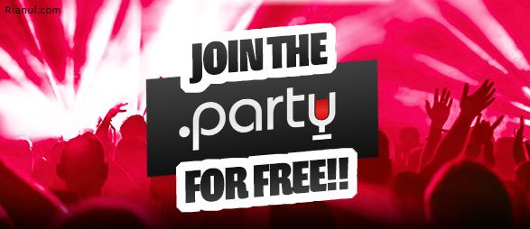 Cara Mendapatkan Domain Gratis .PARTY