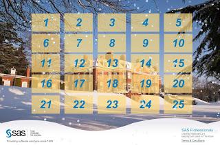 NOTE: SAS Professionals Advent Calendar