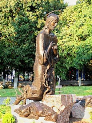 Памятник Иисусу