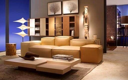 Gambar Desain Sofa Modern Untuk Ruang Tamu