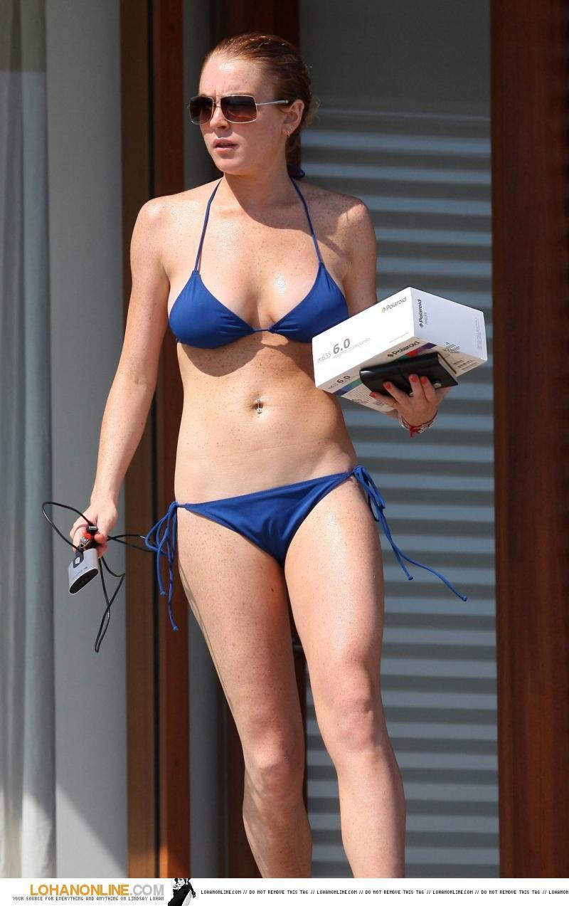Lindsay Lohan Hot Wallpaper 2012