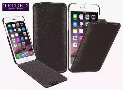 "Кожаный (натуральная) чехол (флип) TETDED для Apple iPhone 6 plus (5.5"")"