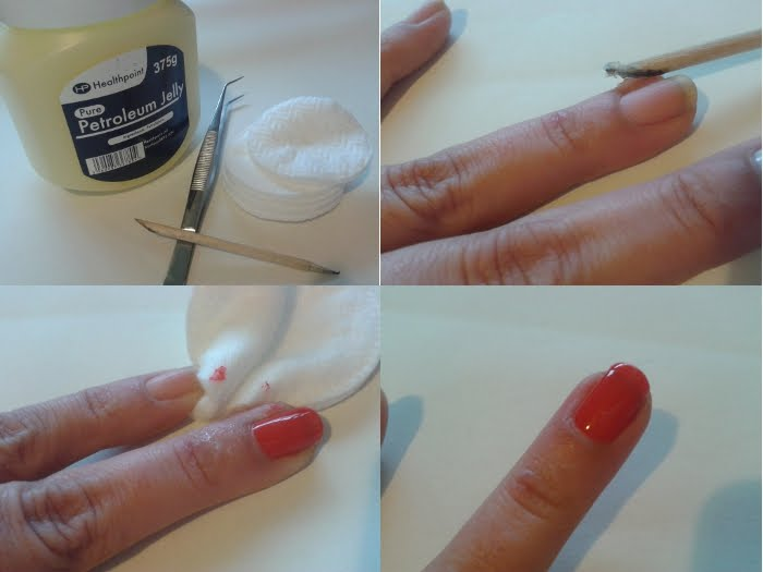 Makeup Tips For My Sister Vaseline The Nail Spills
