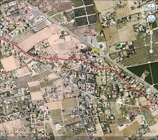 Almazara Candela final route