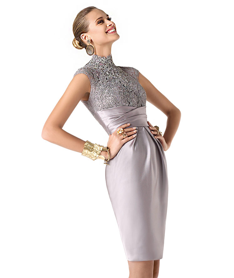 Pronovias 2014 Kısa Gece Elbiseleri