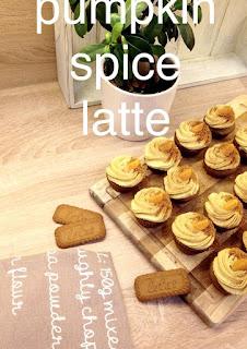 Dýňové cupcakes s kořením a kávou