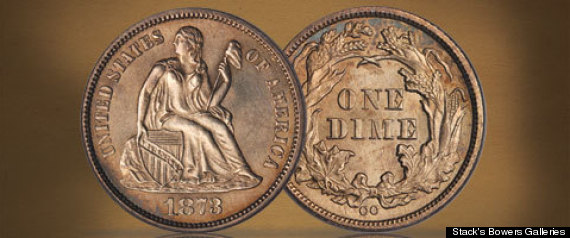 1873-CC Liberty Seated Dime