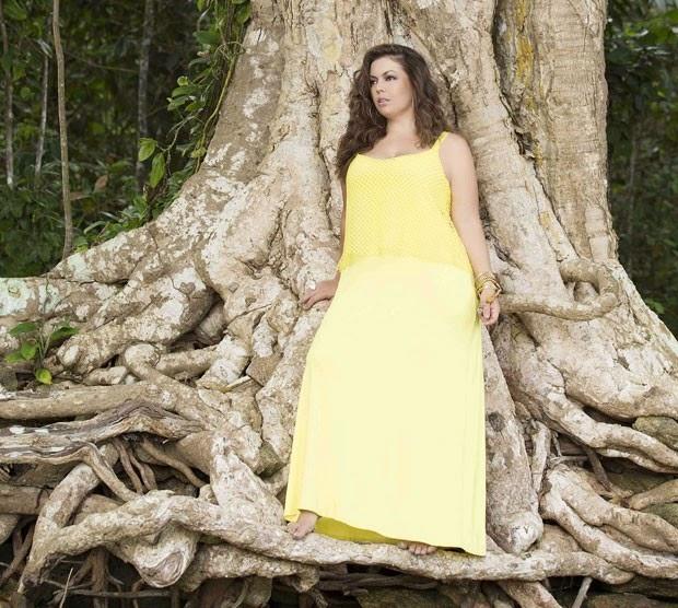Modelo brasileira plus size falou sobre estilo, exercícios e cuidados com a saúde