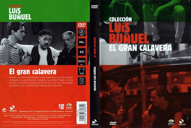 Carátula: El gran calavera | Caratula de la película | Luis Buñuel