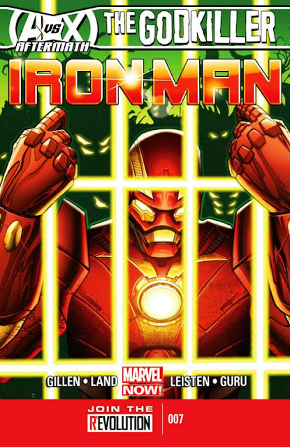 Iron Man #7 (Marvel Now) Comics gratis descarga español