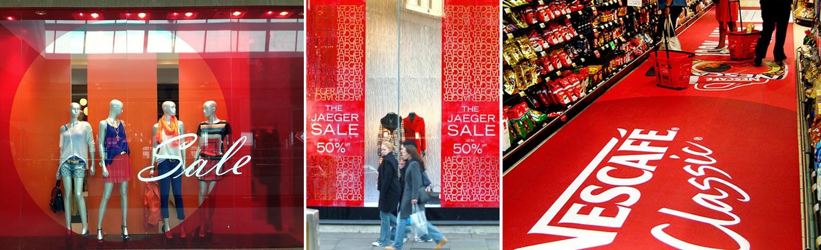 sinalização no ponto de venda viés design