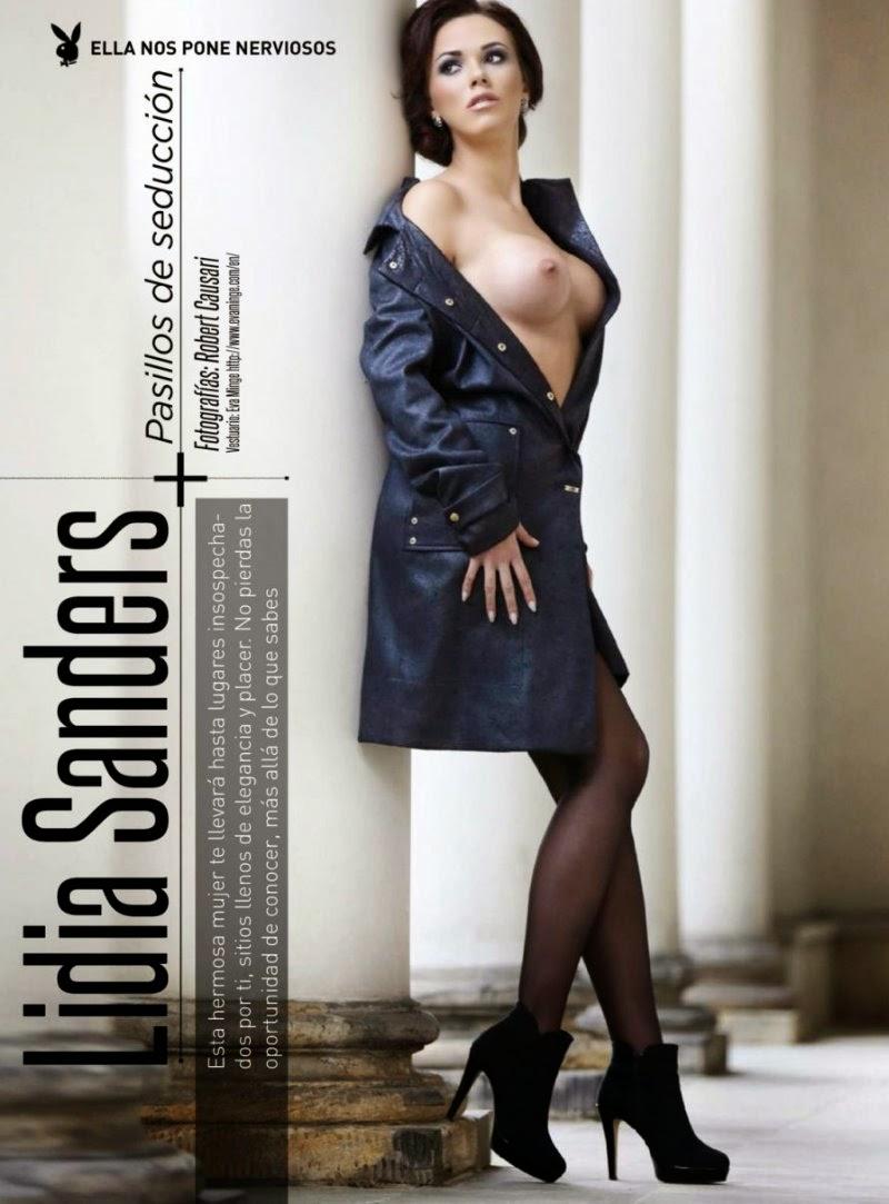 Lidia Sanders in Playboy