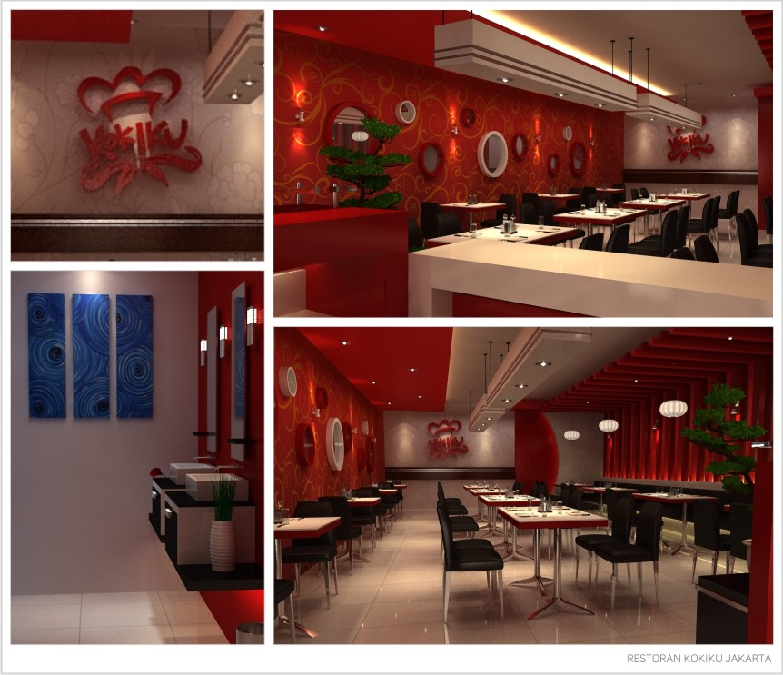 DESAIN INTERIOR RESTORAN KOKIKU BY AL FURQAAN ISLAMIC ARTWORKS