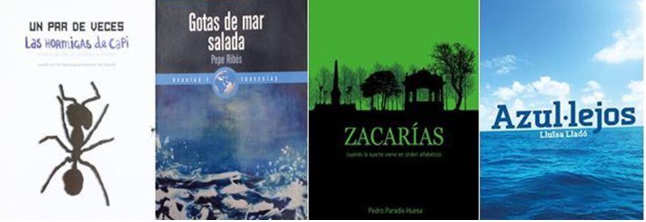 Algunos libros de autores que han pasado por nuestro taller de escritura
