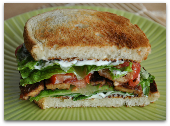 tempeh blt sandwich