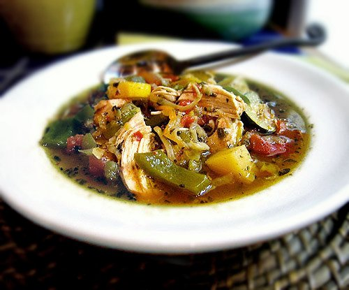 Gluten-free chicken soup for body and soul