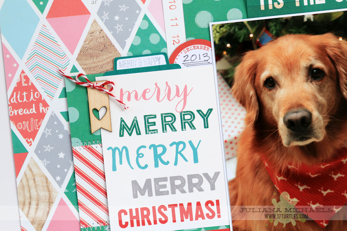 Christmas Scrapbook Page Ideas For Dogs