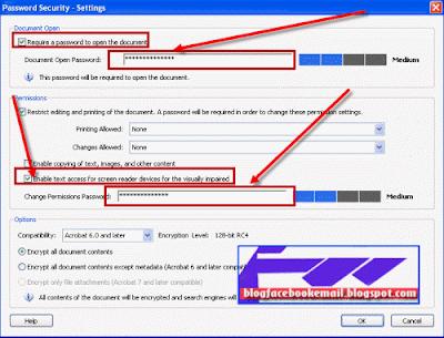 cara agar file PDF ada password atau kata sandi