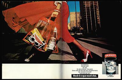 propaganda Vodka Smirnoff - 1978. Reclame anos 70. os anos 70; propaganda na década de 70; Brazil in the 70s, história anos 70; Oswaldo Hernandez;