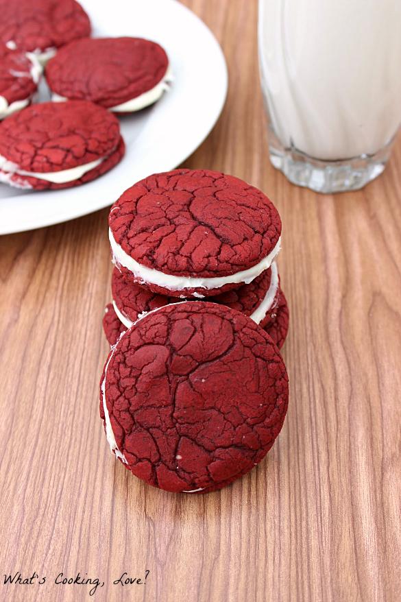 ... cookies easy cake mix cookies gf dawn s easy red velvet sandwich