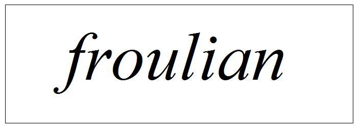 froulian