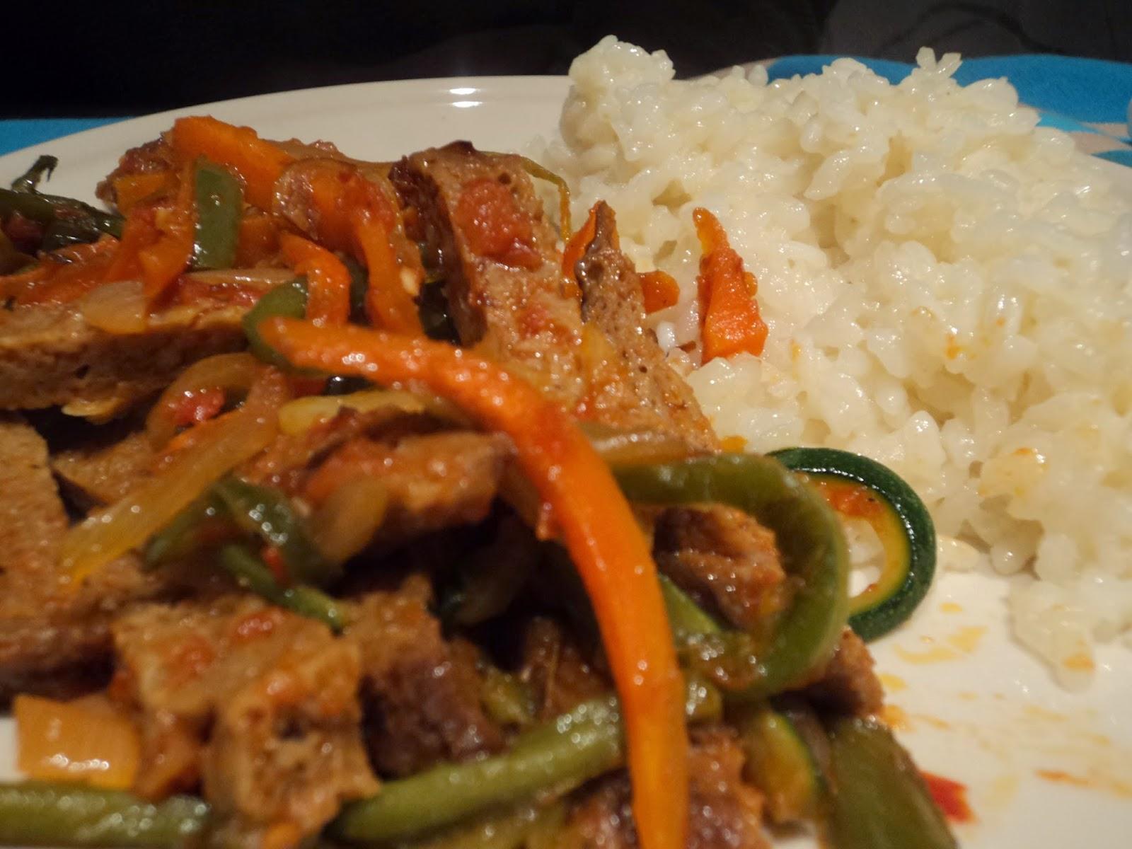 Maldito br coli seitan con verduras for Como cocinar seitan