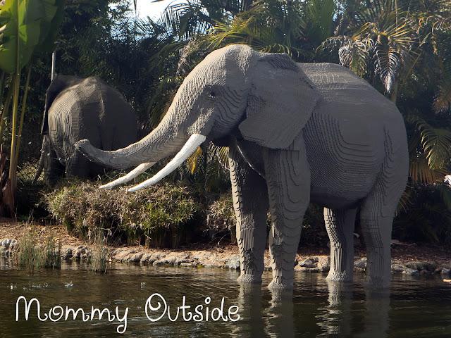legoland elephant