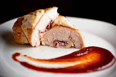 Country Ham & Manchego-Stuffed Chicken Breasts