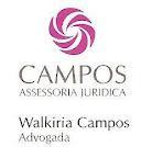 Dra. Walkiria Campos, advogada, Recomendo áreas de atuação: Cível, Familia e Trabalhista.