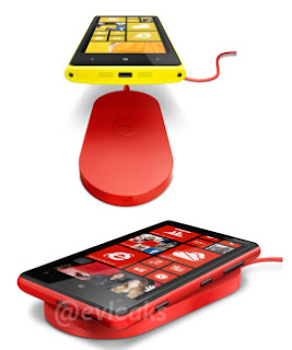 Lumia with wireless charging