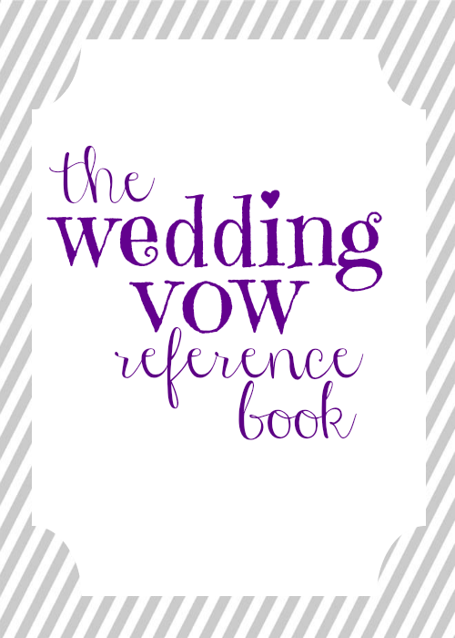 Wedding Vow Mad Libs Free Printable