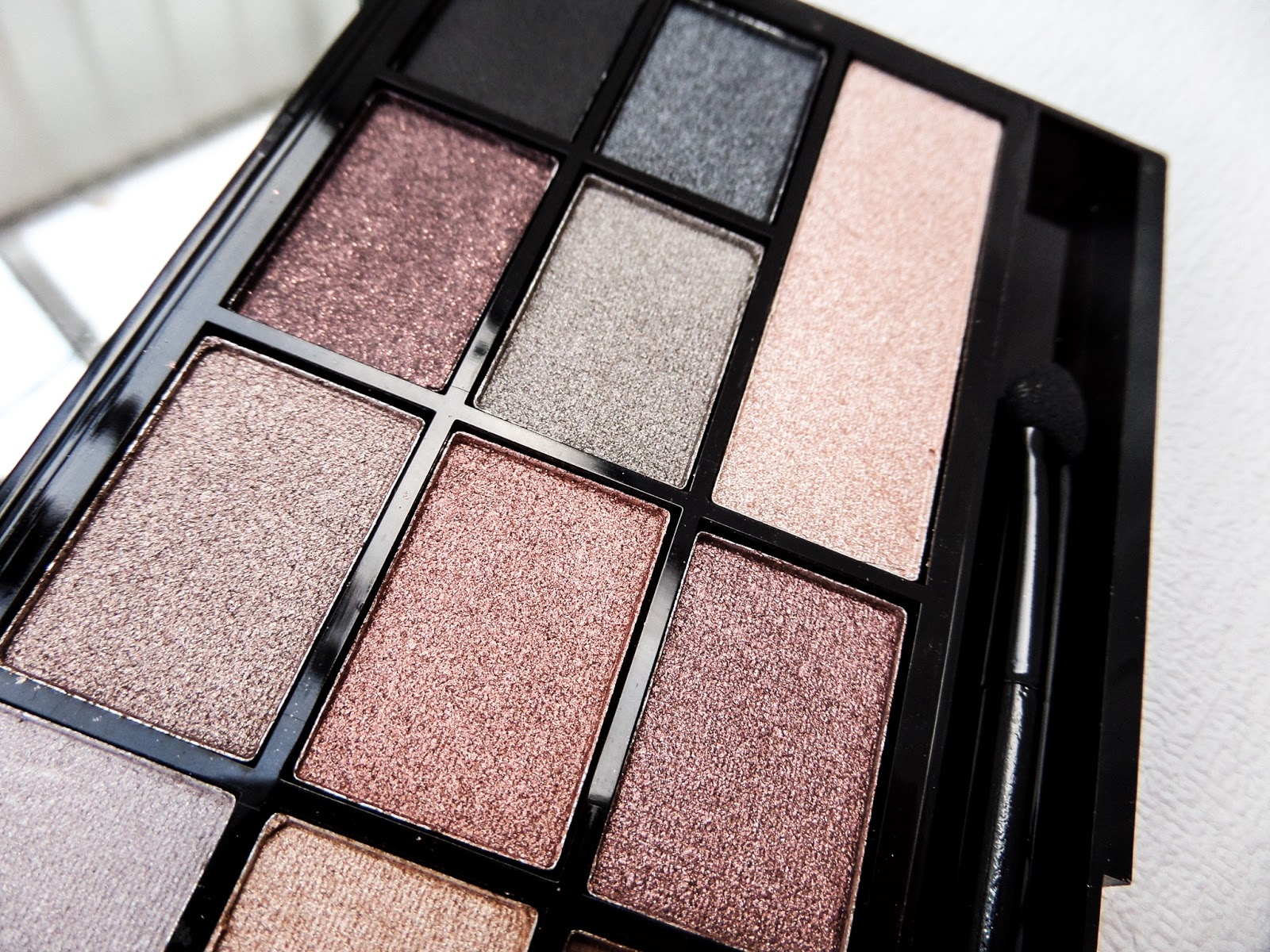 The Makeup Revolution I ♡ Makeup Naked Underneath Palette Swatch & Review