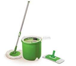 Scotch-Brite Jumper Spin Mop with Round and Flat Heads with Refill