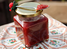 Rhubarb and Rose Petal Butter