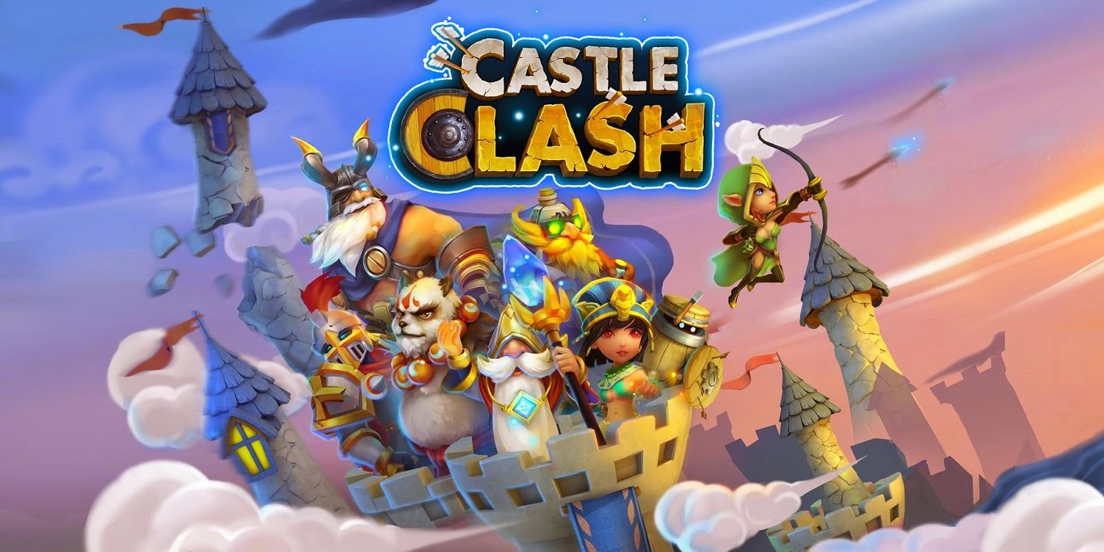 Download Castle Clash APK Mod Mega