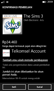 Tips membeli aplikasi dan game Windows Phone