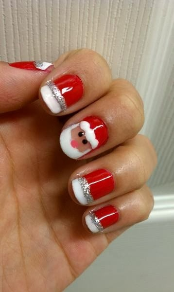 Nails, Beauty, Style, Fashion, christmas, nails, naildesign, creative, nail, nailfashion, manicure, nailart, instanails,