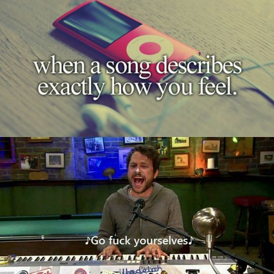 Music is a great way to let people know how you're feeling.